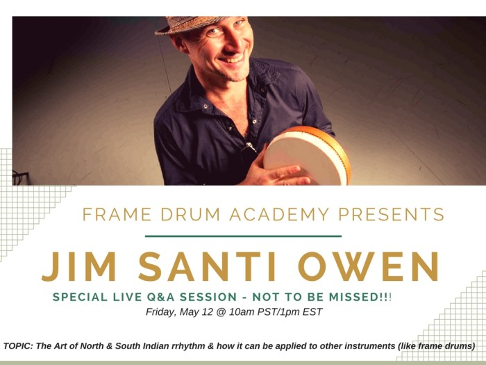 Frame Drum ACADEMY PRESENTS (1)